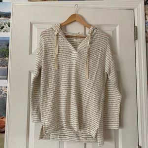 Lou & Grey hooded sweater size XS *new with tags